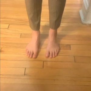 Zara Pants - Plaid Zara trousers